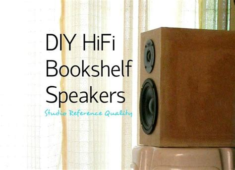 pin  diy speakers