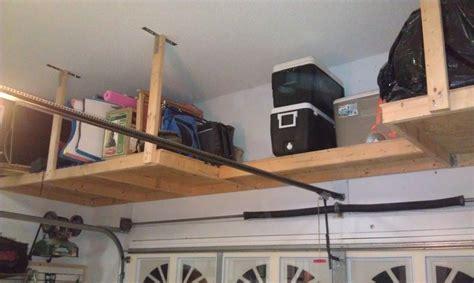 build overhead garage storage how to build garage storage overhead woodworking plans