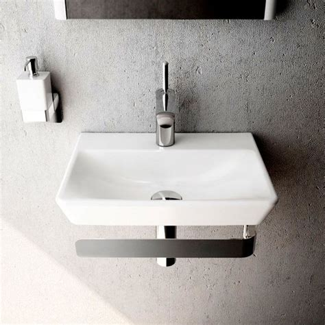 Vitra T4 Cloakroom Basin  450mm  Uk Bathrooms