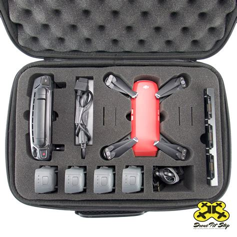 carrying case dji spark medium drone pit stop