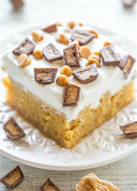 dessert beurre de cacahuete poke cake au beurre de cacahu 232 tes connaissez vous le poke cake 224 table