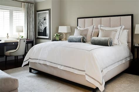 white hotel bedding transitional bedroom worts design