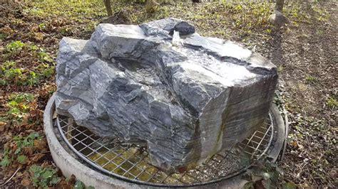quellstein selber bauen gartenbrunnen mit quellstein und komplettem zubeh 246 r