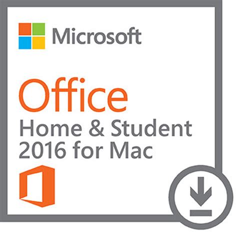 microsoft office home student 2016 for mac gza 00638 b h