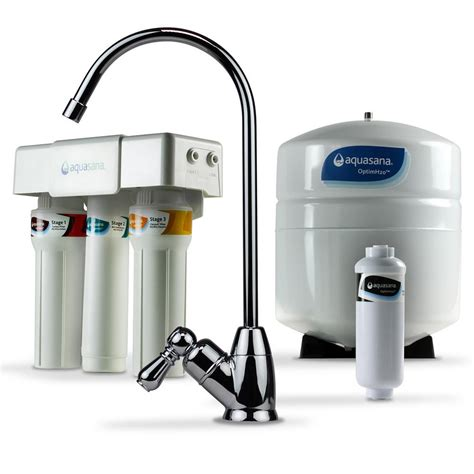 Water Filtration System For Home by Aquasana Optimh2o Osmosis Claryum Counter