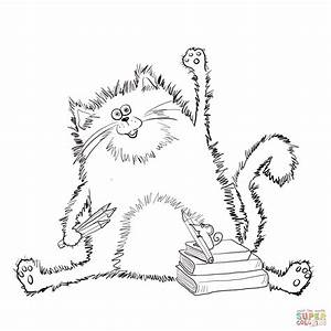 splat the cat coloring page free printable coloring pages With splat the cat template