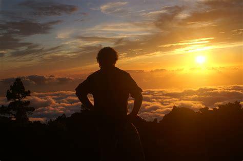 images man sea horizon silhouette mountain