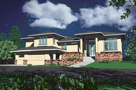 prairie house plan sq ft home plan tpc