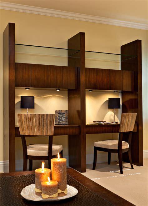mid century desk home office modern  book bookcase