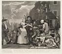 'A Rake's Progress (plate 4)', William Hogarth, 1735 | Tate