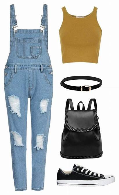 Outfits Polyvore Summer Trendy Teen Converse Teenform