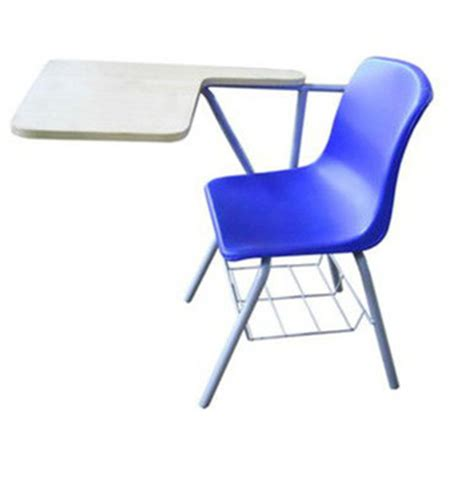 plastic bright colored chair with writing table buy