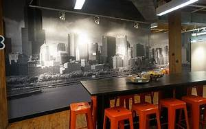 wall graphics for restaurant test monki hutiu0027s 5 With kitchen cabinets lowes with chicago city sticker locations