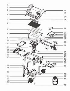 Weber 2271001 Parts List And Diagram