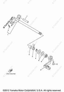 Yamaha Motorcycle 2001 Oem Parts Diagram For Shifter