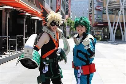 Cosplay Anime Expo Deku Costumes Hero Bakugou