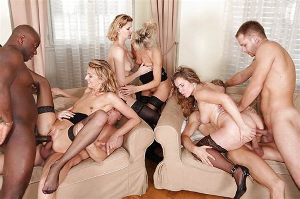 #Lewd #Milf #In #Nylons #Have #A #Fervent #Double #Penetration #Orgy