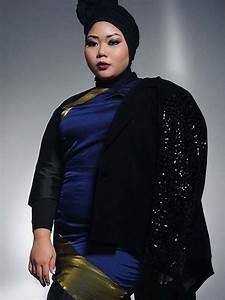 Hijab Fashion For Plus Size Women - hijabiworld