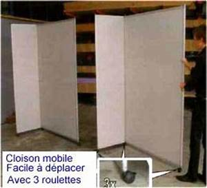 Fabriquer Une Cloison Amovible : fabriquer une cloison amovible menuiserie image et conseil ~ Melissatoandfro.com Idées de Décoration