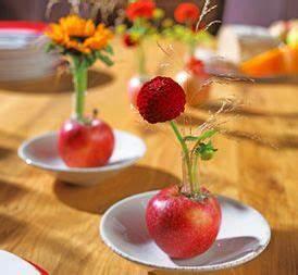 Tischdeko Selber Machen : 18 besten tischdeko apfel bilder auf pinterest bastelei ~ Watch28wear.com Haus und Dekorationen