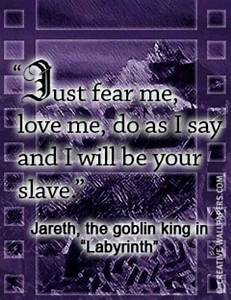 Quotes From The... Labyrinth Romantic Quotes