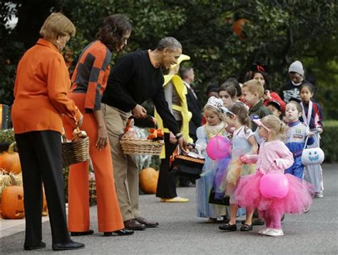 federal office channels michele obama bans halloween