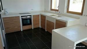 faire un meuble de cuisine en siporex image sur le With realiser une cuisine en siporex