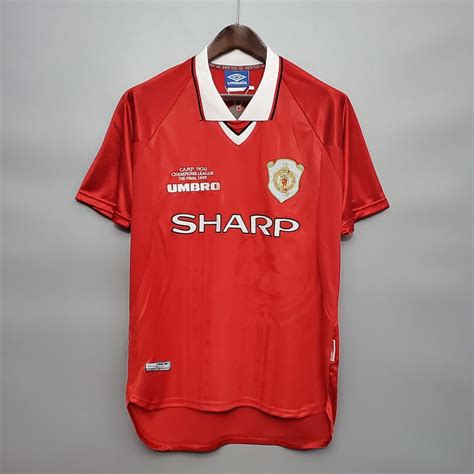 Fifa 21 manchester united ucl winner 22. Manchester United 1999 UCL Final Football Shirt