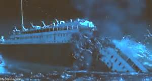 how did the titanic sink pictures of the titanic sinking