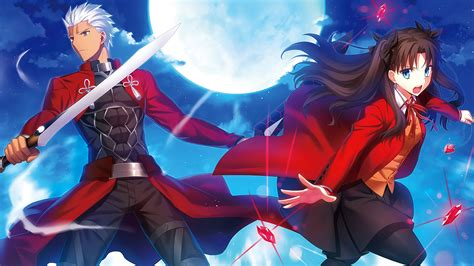 rin tohsaka archer fate stay night wallpapers hd