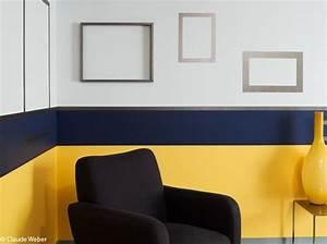 Salon Gris Bleu : peinture salon plus de 20 couleurs canons pour le repeindre elle d coration ~ Melissatoandfro.com Idées de Décoration