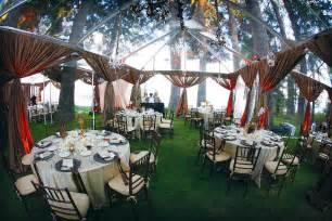 outdoor wedding reception venues rainingblossoms wedding receptions tents decoration