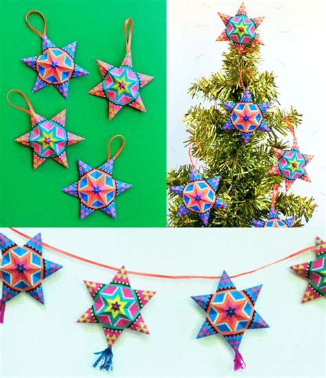 diy mexican paper craft decorations video tutorials