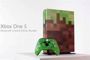Microsoft's custom Minecraft Xbox One looks like it came ...