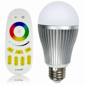 Lampe Mit Eigenen Fotos : rgbw 9w led lampe mit fernbedienung jetzt g nstig kaufen ~ Lizthompson.info Haus und Dekorationen