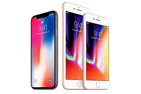 is the new iphone apple introduces the new iphone 8 and iphone x