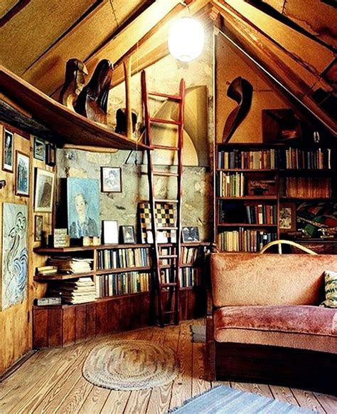 attic library design would love an attic or loft that could be turned into a library reading room home decor