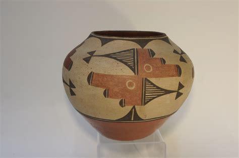 Early 20th Century Zia Pueblo Historic Early Contemporary Pueblo Indian Pottery At Aaia