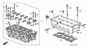 Cylinder Head For 1998 Honda Cr