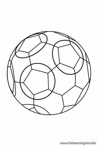 Soccer Outline Coloring Yoyo Sport Sports Flashcards