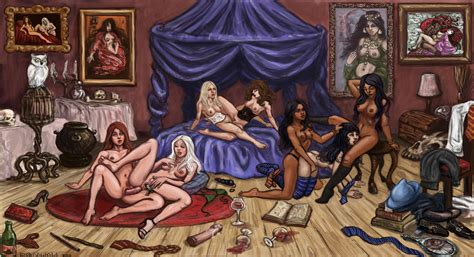 Hogwarts Orgy By Remuslupin Hentai Foundry