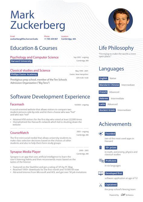 zuckerberg resume pdf cfo cv template resume form sle strong resume career objective lpn resume objective sle