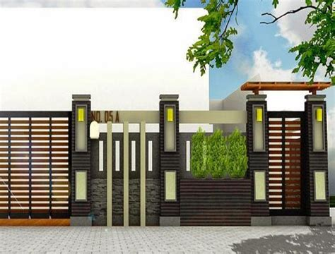 modern house fence design  android apk