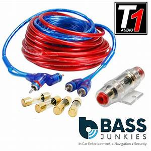 800 Watt 10 Awg Gauge Car Audio Amplifier Amp Wiring Kit