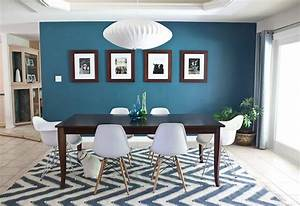 Tapis Salon Bleu Canard : bleu canard avec quelle couleur pour un int rieur d co ~ Melissatoandfro.com Idées de Décoration