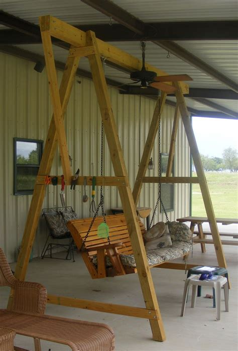 porch swing  frame diy projects  plans porch swing