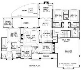 1 floor plans conan patenaude one storey house plan