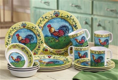 country kitchen dinnerware 251 best roosters images on 2786