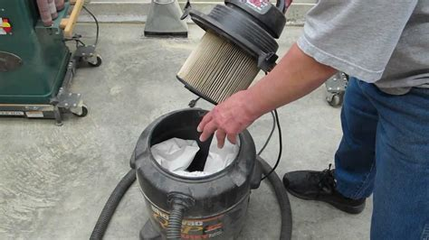 shop vac filters   improve performance youtube