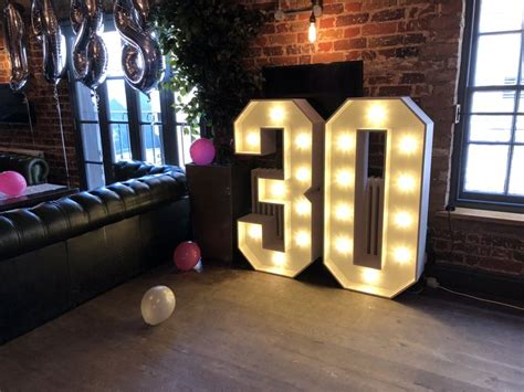light  number  marquee letters  birthday